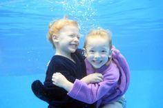 Siblings Underwater by: Kari Shepard  www.shepardswimschool.com Face Change, Underwater Pictures, Swim School, Underwater Photography, Pool Houses, Unique Photo, Face And Body, Siblings, Maternity