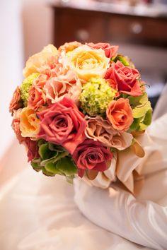 秋バララウンドブーケ/花どうらく/ブーケ/http://www.hanadouraku.com/bouquet/wedding/