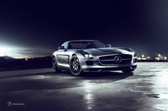 Mercedes SLS CGI on Behance