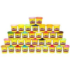 Play-Doh Modeling Clay 11740: Play Doh 36 Mega Pack Of Colors Free Shipping -> BUY IT NOW ONLY: $79.99 on eBay!