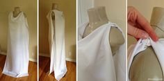 cool and easy women's toga idea