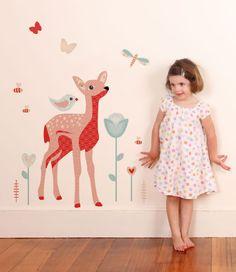 Little Deer - Woodland Wall Decals - Wall Decals - Wall Decor ~ tinyme.com