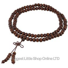 New #wooden buddhist 108 mala 4mm #beads endless knot #meditation om mani mantra ,  View more on the LINK: 	http://www.zeppy.io/product/gb/2/291589663820/