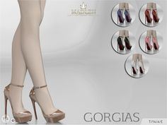Sims 4 cc — Madlen Gorgias Shoes