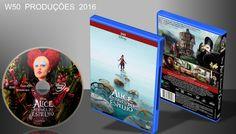 Alice Através Do Espelho - DVD 1 - ➨ Vitrine - Galeria De Capas - MundoNet | Capas & Labels Customizados