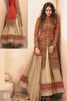 53ca31da5903 Pakistani Fashion Designers Fancy New and Beautiful Collection of Open  Shirt Dresses for Bridal Wedding or Walima Day and also for party wear.