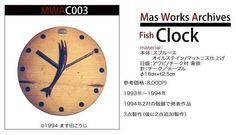 26年間の木工作品集003 #木の時計 #オーダーメイド