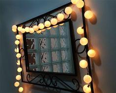 DIY Luzes de Natal com bolinhas de ping pong || Imaginarium