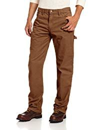 Shop a great selection of Dickies Men's Relaxed Straight-Fit Lightweight Duck Carpenter Jean Hammer Loop. Find new offer and Similar products for Dickies Men's Relaxed Straight-Fit Lightweight Duck Carpenter Jean Hammer Loop. Tall Men Fashion, Mens Fashion, Fashion Outfits, Jeans Pants, Khaki Pants, Top Clothing Brands, Men's Clothing, Brown Jeans, Tall Guys