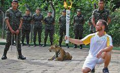 Matan a tiros a una jaguar en Brasil durante el paso de la antorcha olímpica
