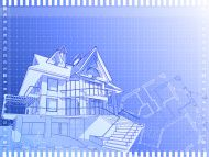house: 3d technical concept draw