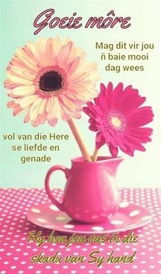 Good Morning Messages, Good Morning Wishes, Day Wishes, Good Morning Quotes, Lekker Dag, Afrikaanse Quotes, Good Night Greetings, Goeie Nag, Goeie More