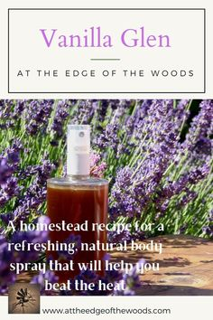 When the temperature rises outside, we turn to our favorite natural body spray for its refreshing scent and bacteria-killing power. A simple combination of essential oils, vanilla, and vodka, it is easy to make and very cost effective. Check out the new blog post to get all the details. Beat The Heat, Body Spray, Deodorant, Glass Bottles, Vodka, Vanilla, Essential Oils, Make It Yourself, Simple
