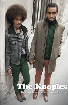 First Black Couple for The Kooples
