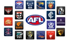 The 2017 Australian conference season are the season of the elite Australian rules soccer competition. There& be eighteen groups Australian Football League, Western Bulldogs, Brisbane, Melbourne, Small Gifts, Rugby, Lions, Team Logo, Soccer