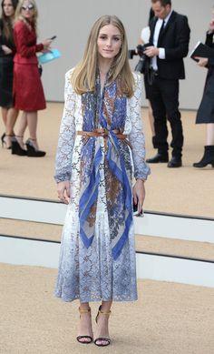 Olivia Palermo Fashion Week Outfits Spring 2015 | POPSUGAR Fashion
