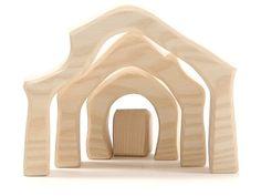 Ostheimer Nativity Stable mini 4-piece