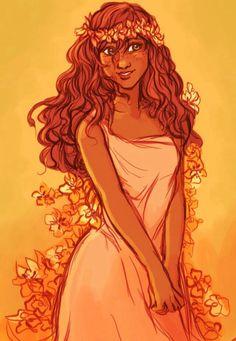 bev johnson - Lilly is Love Pretty Art, Cute Art, Black Anime Characters, Fantasy Characters, Mode Poster, Timberwolf, Greek And Roman Mythology, Goddess Art, Art Plastique