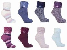 14.12$  Buy here - http://viwru.justgood.pw/vig/item.php?t=rvsa8f19732 - Heat Holders - Womens Thick Bed / Lounge Thermal Non Slip Bed Socks / Slippers 14.12$