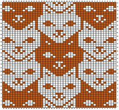 knitting charts tessellations charts for - knitting Knitting Charts, Knitting Stitches, Knitting Patterns, Loom Patterns, Crochet Cross, Crochet Chart, Cross Stitch Charts, Cross Stitch Patterns, Hand Embroidery