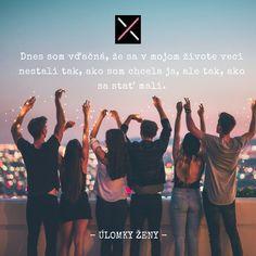 #ulomkyzeny #dnespisem #dnescitam #citatdna #ulomky #motivujem #podcitat #ulomkyzeny.sk Motto, Quotations, Poetry, Mindfulness, Words, Quotes, Wedding, Ideas, Valentines Day Weddings