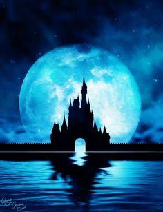 Cinderella's castle / Disney World (Silhouettes / Castles by MrQuanChung @Facebook) #Cinderella