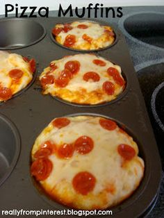 """20 Creative & Healthy School Lunch Ideas"" -- you know, because when I think ""healthy"" I automatically think ""pizza."""