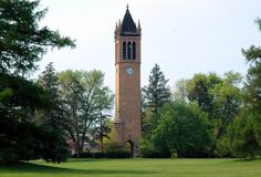 The Campanile at Iowa State University.  One of the iconic symbols of ISU.