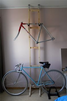 Been searching for a bike rack solution for our garage and I think I found it! Affordable too.