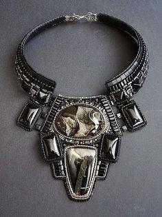 Amazing bead embroidered jewelry by Guzel Bakeeva   Beads Magic