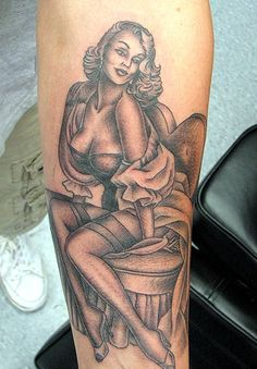 pin up girl tattoos | Pin Up Girl Tattoos Images, Comments, Graphics - Page 2