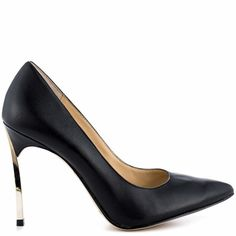 Nothing Like a stiletto | Infiniti - Black Leather by Enzo Angiolini