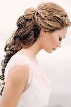 wedding hairstyle inspiration braided hair long chialimengartistry