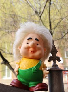 Rubber Doll USSR Toy Karlsson-on-the-Roof 1970s by DereviyVintage