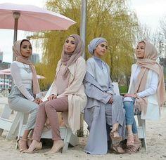 Safari hijab style – Just Trendy Girls Hijab Turban Style, Hijab Chic, Hijab Outfit, Hijab Wear, Muslim Fashion, Hijab Fashion, Modest Fashion, Arabian Women, Conservative Fashion