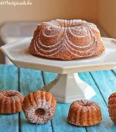Super Simple Cream Bundt Cake Infused with Saffron and Tahitian Vanilla