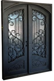 "6'0""x8'0"" Sofia Exterior Wrought Iron Door"