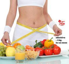 come perdere 5 chili in un mese