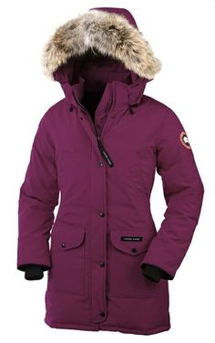 Canada Goose - Trillium Parka. With a subtly cinched waist, sleek design and mid-thigh length, the Trillium Parka is designed to offer the best in extreme weather protection while still flattering a woman's form. With a classic aesthetic, this Parka is perfect for casual days in the city or for an outdoor adventure.