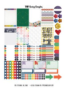 Free Printable Sewing Sampler for The Happy Planner on www.myplannerenvy.com