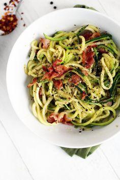 Zucchini Cacio e Pepe | 19 Healthy And Delicious Ways To Use Your Spiralizer