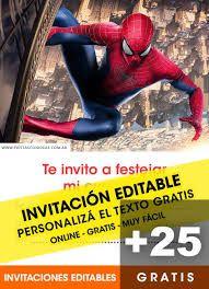invitaciones hombre araña para editar gratis - Buscar con Google Superman Birthday Party, Shark, Banner, Spiderman Gratis, Holland, Facebook, Google, Fields, Paper