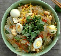 rice paper (bánh tráng trộn) - street food