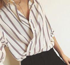 La camicia come #AudreyHepburn: ecco la nuova tendenza dell'anno! #fashion #outfit #shirt