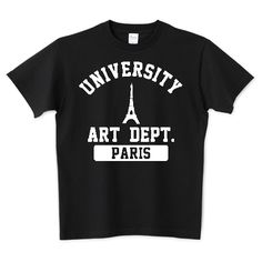 PARIS   デザインTシャツ通販 T-SHIRTS TRINITY(Tシャツトリニティ)