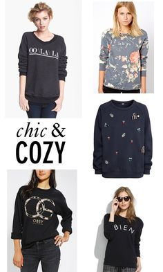Fall Sweatshirts: Chic and Cozy