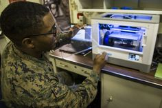 U.S. MARINE CORPS IMPROVING SQUADRON SELF-SUFFICIENCY WITH 3D PRINTING