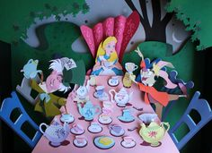 Alice in Wonderland Paper Sculpture by Incognita44 on Etsy, $400.00