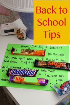 Back to School Tips by whatscookingwithruthie.com