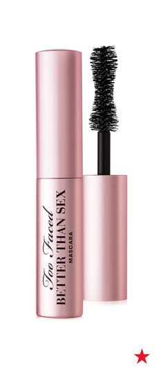 Take your eyelash game up a notch — Too Faced Better Than Sex mini mascara